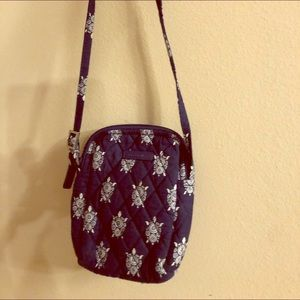 Vera Bradley turtle pattern bag